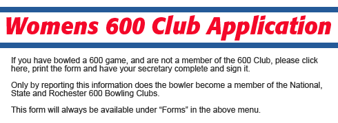 600 Club Registration Form